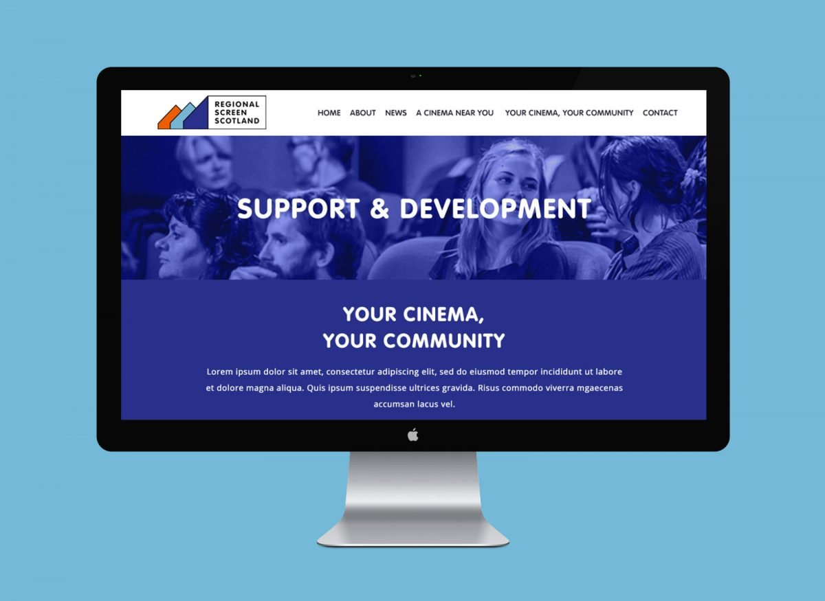 Regional Screen Scotland website